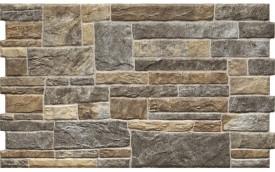 Фасадная клинкерная плитка Cerrad Canella Dark, размер 490 x 300 x 10 мм, толщина 10 мм.