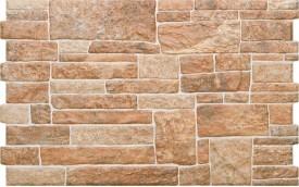 Фасадная клинкерная плитка Cerrad Canella Ginger, размер 490 x 300 x 10 мм, толщина 10 мм.