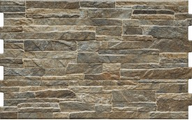 Фасадная клинкерная плитка Cerrad Nigella Dark, размер 490 x 300 x 10 мм, толщина 10 мм.