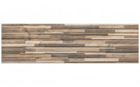 Фасадная клинкерная плитка Cerrad Zebrina Wood, размер 600 x 175 x 9 мм, толщина 9 мм.