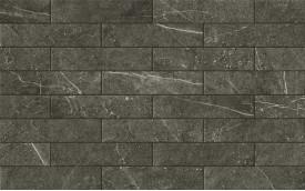 Фасадная клинкерная плитка Cerrad Cerros Plansza Grafit, размер 300 x 74 x 9,0 мм, толщина 9,0 мм.