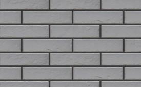 Фасадная клинкерная плитка Cerrad Foggia Gris, размер 245 x 65 x 8,0 мм, толщина 8,0 мм.