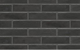 Фасадная клинкерная плитка Cerrad Foggia Nero, размер 245 x 65 x 8,0 мм, толщина 8,0 мм.