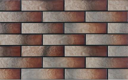 Фасадная клинкерная плитка Cerrad Alaska Rustiko, размер 245 x 65 x 6,5 мм, толщина 6,5 мм.