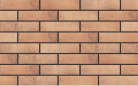 Фасадная клинкерная плитка Cerrad Loft Brick Curry, размер 245 x 65 x 8 мм, толщина 8 мм.