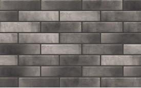 Фасадная клинкерная плитка Cerrad Retro Brick Pepper, размер 245 x 65 x 8 мм, толщина 8 мм.