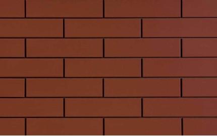 Фасадная клинкерная плитка Cerrad Rott Gladka, размер 245 x 65 x 6,5 мм, толщина 6,5 мм.