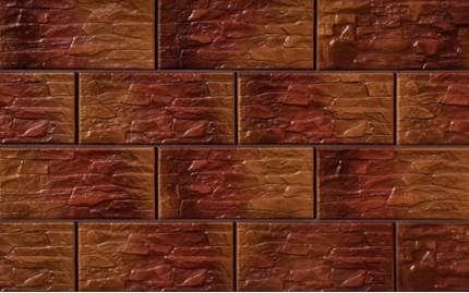 Фасадная клинкерная плитка Cerrad Kamien Cer 21 Coral, размер 300 x 148 x 9 мм, толщина 9 мм.