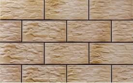 Фасадная клинкерная плитка Cerrad Kamien Cer 28 Piryt, размер 300 x 148 x 9 мм, толщина 9 мм.