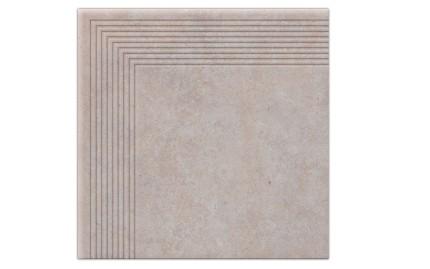 Угловая ступень Cerrad Cottege Salt, размер 300 x 300 x 9 мм, толщина 9 мм.