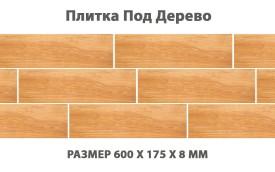 Напольная плитка под дерево Cerrad Mustiq Honey, размер 600 x 175 x 8 мм, толщина 8 мм.