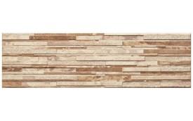 Фасадная клинкерная плитка Cerrad Zebrina Beige, размер 600 x 175 x 9 мм, толщина 9 мм.