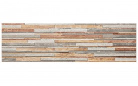 Фасадная клинкерная плитка Cerrad Zebrina Pastel, размер 600 x 175 x 9 мм, толщина 9 мм.