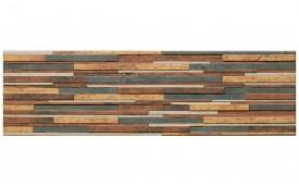 Фасадная клинкерная плитка Cerrad Zebrina Rust, размер 600 x 175 x 9 мм, толщина 9 мм.
