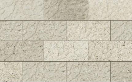 Фасадная клинкерная плитка Cerrad Saltstone Plansza Bianco, размер 300 x 148 x 9 мм, толщина 9 мм.
