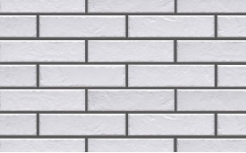 Фасадная клинкерная плитка Cerrad Foggia Bianco, размер 245 x 65 x 8,0 мм, толщина 8,0 мм.