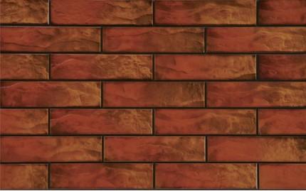 Фасадная клинкерная плитка Cerrad Colorado Rustiko, размер 245 x 65 x 6,5 мм, толщина 6,5 мм.