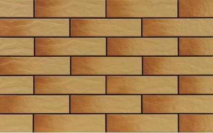 Фасадная клинкерная плитка Cerrad Gobi Rustico, размер 245 x 65 x 6,5 мм, толщина 6,5 мм.