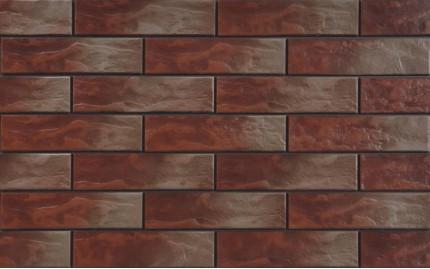 Фасадная клинкерная плитка Cerrad Indiana Rustiko, размер 245 x 65 x 6,5 мм, толщина 6,5 мм.