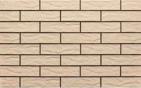 Фасадная клинкерная плитка Cerrad Krem Rustico, размер 245 x 65 x 6,5 мм, толщина 6,5 мм.