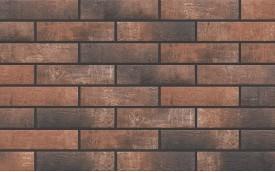 Фасадная клинкерная плитка Cerrad Loft Brick Chili, размер 245 x 65 x 8 мм, толщина 8 мм.