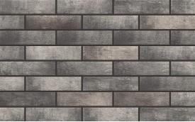 Фасадная клинкерная плитка Cerrad Loft Brick Pepper, размер 245 x 65 x 8 мм, толщина 8 мм.