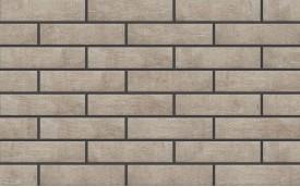 Фасадная клинкерная плитка Cerrad Loft Brick Salt, размер 245 x 65 x 8 мм, толщина 8 мм.