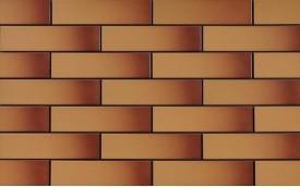 Фасадная клинкерная плитка Cerrad Miodowa szkliwiona, размер 245 x 65 x 6,5 мм, толщина 6,5 мм.