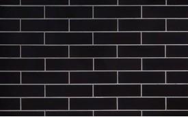 Фасадная клинкерная плитка Cerrad Nero Gladka Skliv, размер 245 x 65 x 6,5 мм, толщина 6,5 мм.