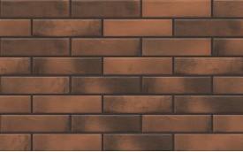 Фасадная клинкерная плитка Cerrad Retro Brick Chili, размер 245 x 65 x 8 мм, толщина 8 мм.