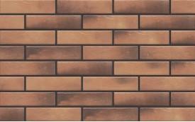 Фасадная клинкерная плитка Cerrad Retro Brick Curry, размер 245 x 65 x 8 мм, толщина 8 мм.
