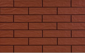 Фасадная клинкерная плитка Cerrad Rott Rustico, размер 245 x 65 x 6,5 мм, толщина 6,5 мм.