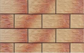 Фасадная клинкерная плитка Cerrad Kamien Cer 3 Jesienny, размер 300 x 148 x 9 мм, толщина 9 мм.